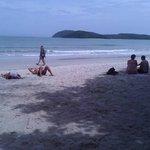 Beach @ hotel area