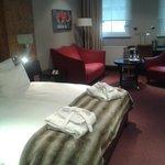 notre chambre bien spacieuse