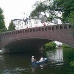 Вход в канал. Мост Фернзихт