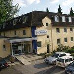 Eingang Hotel Kronenthal
