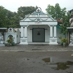 entrance to kraton