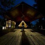 tent no. 2 at night