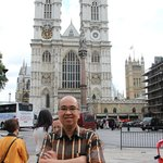 Westminster Abbey at the background