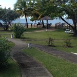 View from bedroom towards Grand Anse beach