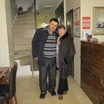 Mr.Aydin Kaya with me