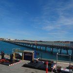The Jetty at Broome  Photos taken  on the Dawn Princess Ship  June 2014.