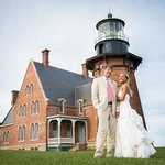 A wedding at the Southeast Lighthouse!