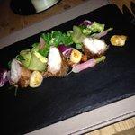 Amazing Monkfish and Scallop starter