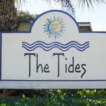 Tides Sign in front of Restaurant