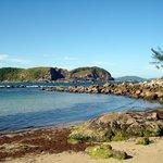 Vista da Praia, caminho das pedras