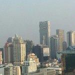 Blick aus dem 23. Stock
