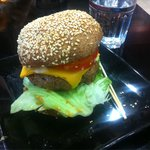 Looks and tastes really good. One of the best burgers in Helsinki for sure