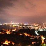 Ibiza Town by night...