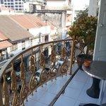 balcon chambre dernier étage