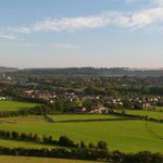 View from Old Sarum 5 minutes away