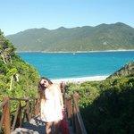 Praia pontal do Atalaia, escadaria