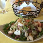 Ceviche fresca! Conch, wahoo, shrimp, tuna, and calamari!