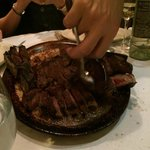 2 Porterhouse steaks for two...