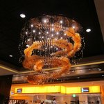 Chandelier at the Wicked Spoon Buffet