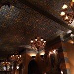 Ceiling of the Restaurant