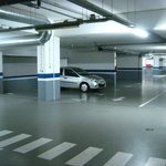 Secure underground car park - free to guests