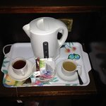 Very minimal and lacklustre tea and coffee making facilities