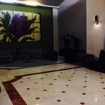 Fun and spacious lobby