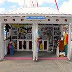 Our shop at Mariner Inn Marina on Tortola