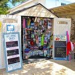 Our shop/dive centre on Norman Island