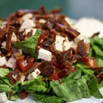 BLT Ranch Salad with Chicken