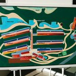 Map of resort with labels