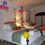 Birthday Surprise room decoration
