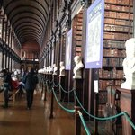 Busts in Long Room