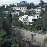 View of Addis from our balcony