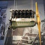 Музей БМВ - авиационный двигатель