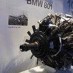 Музей БМВ -  двигатель Фокке-Вульфа