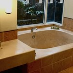 the huge bathroom/ tub in Garden Villa No. 2137