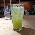 mint/jalapeno soda