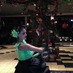 Guanacaste dance at Mirador Ram Luna