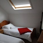 A lovely twin room in the attic ~ not suitable for the less mobile