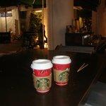 the coffee...
