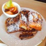 Cinnamon bun french toast - yummy...