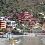 View from Playa Madera