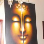 Hallway inside Ghandi's