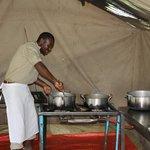 wonderful kitchen in wildcamp