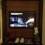 Tv, minibar and complimentary Nespresso