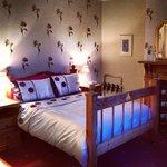 Our room at Glan Heulog