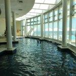 pisina climatizada cubierta