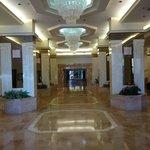 Hall e recepção do hotel