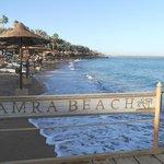 La spiaggia del Tamra Beach